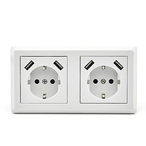 Socket Outlet With USB Charger