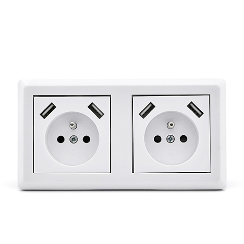 Smart USB Wall Socket Outlets