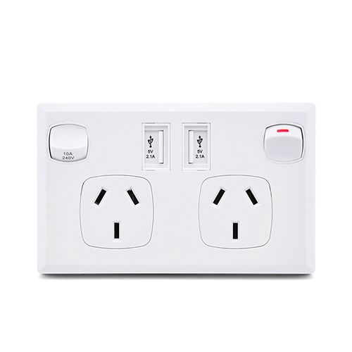 Switch Socket  Outlets USB Charging