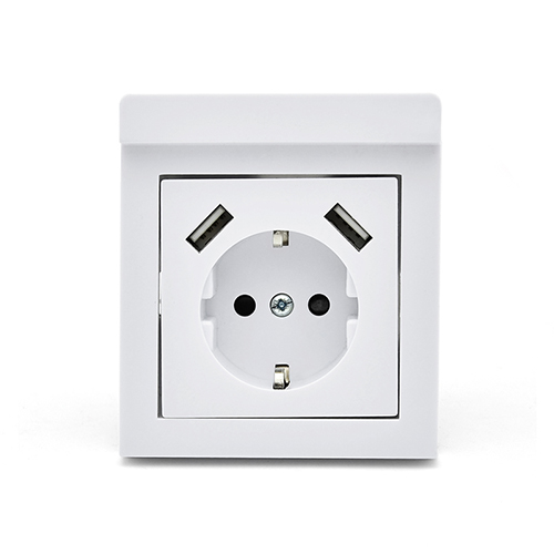 Schuko USB socket outlet